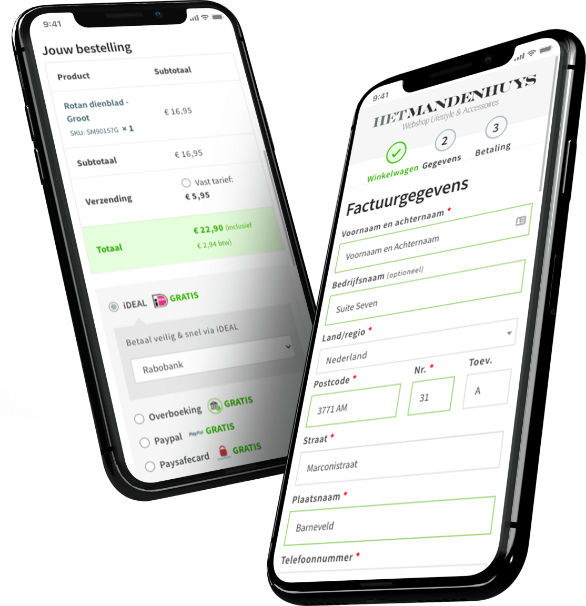 iPhones - Checkout - Mandenhuys
