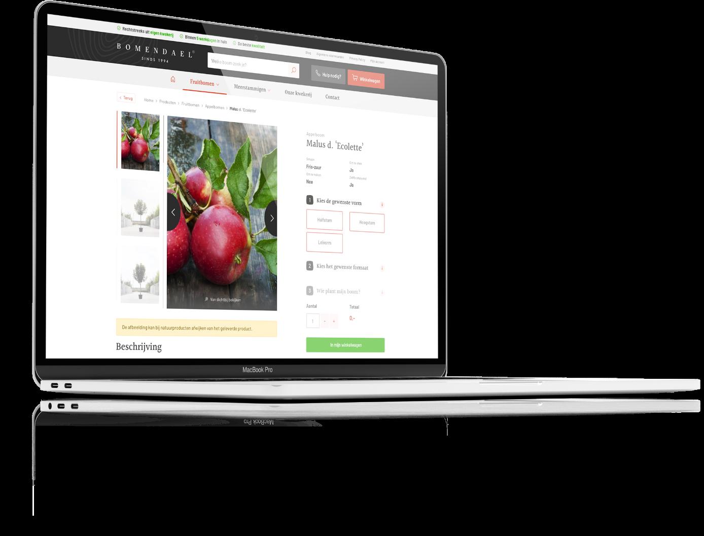 Bomendael - MacBook
