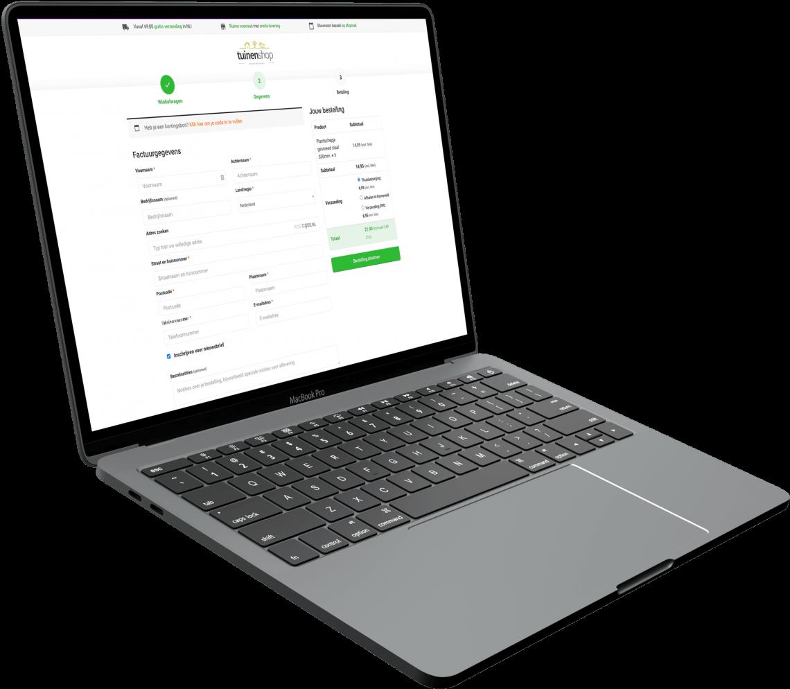 Tuinenshop - Macbook